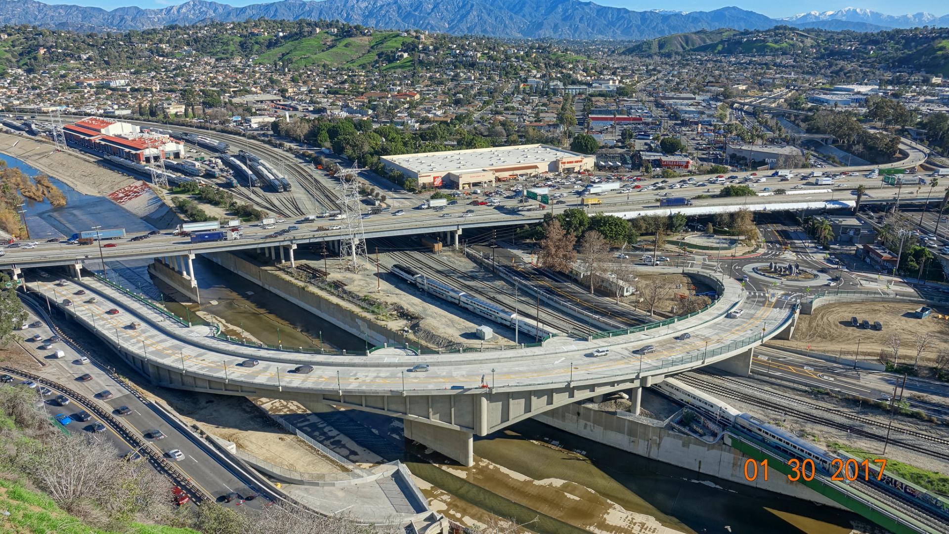 Riverside Drive Bridge Replacement over Los Angeles River