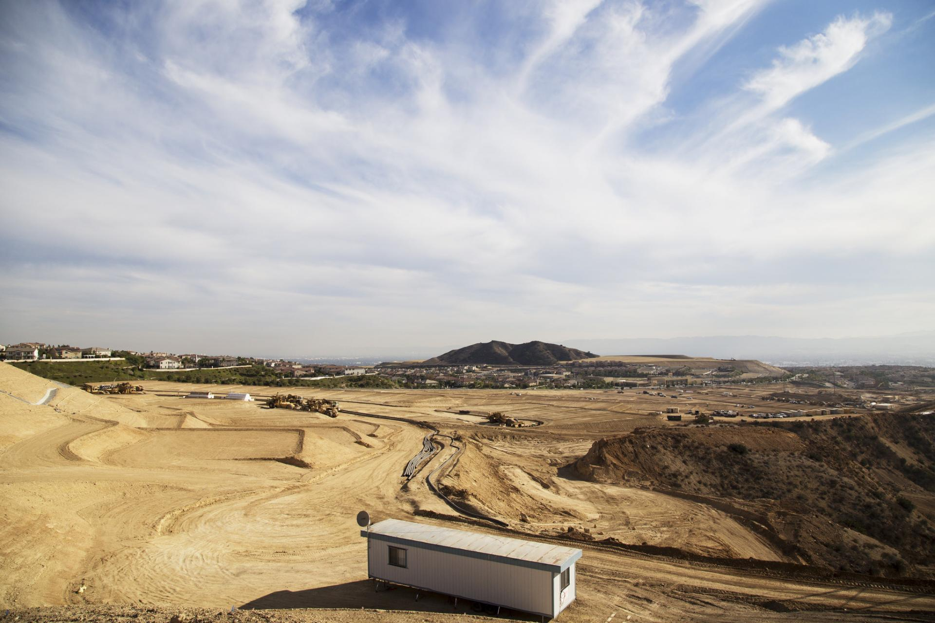 Porter Ranch Development grading operation