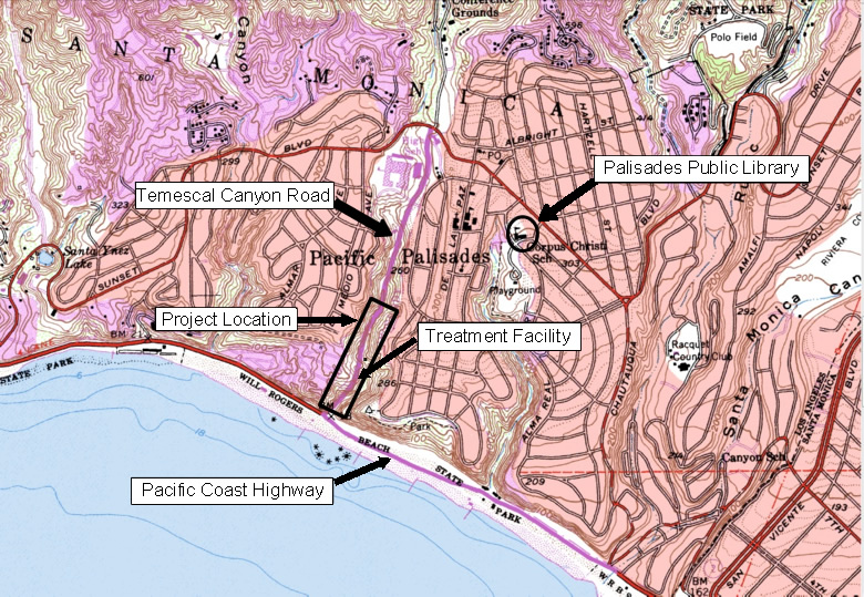 Temescal Project Location