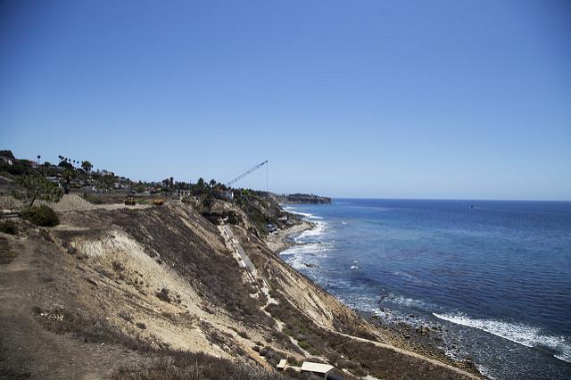 image of White Point landslide